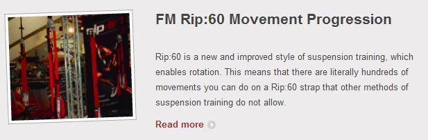 Rip:60 Push Movement Progression