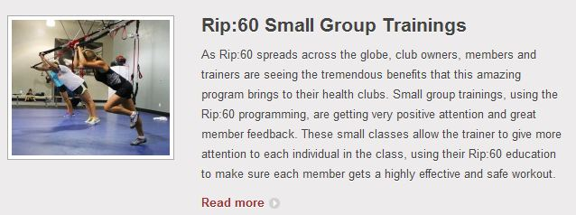 Rip:60 Small Group Training